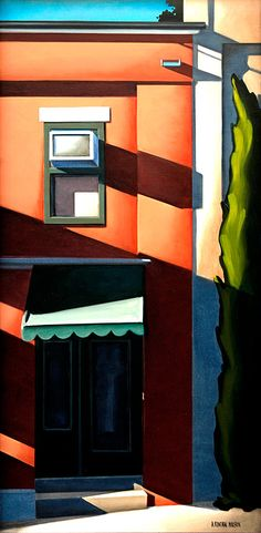 """Shadowed Door"" by Kenton Nelson"
