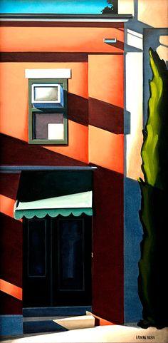 """""""Shadowed Door"""" by Kenton Nelson"""