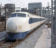 Original Shinkansen - Bullet Train, Japan