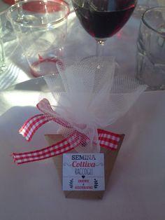 #bomboniere #faidate #semi #bombonierematrimonio #wedding #DIY