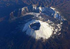 Volcán activo Vesubio, responsable de la desaparición de Pompeya y Herculano en el siglo I de nuestra era. Italia