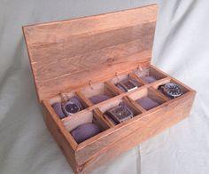 Reclaimed Wood Watchbox – Chad Floyd Woodworks