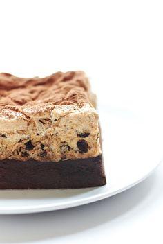 chocOlate hazelnut meringue cake