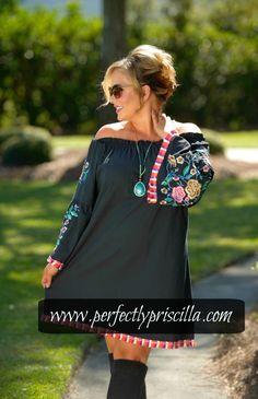 #dress #tunic #fashion #cute #curvy #embroidery #boutique