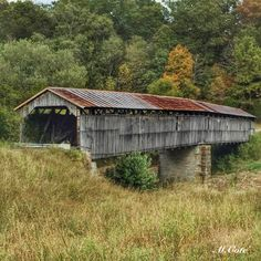 Beech Fork Covered Bridge in Maud Kentucky Longest Covered Bridge in the state