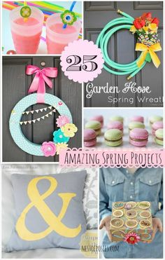 25 Amazing Spring Projects via @Nest of Posies