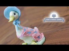 Jemima Puddle Duck cake topper tutorial Beatrix Potter - YouTube
