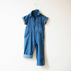 Image of denim overall
