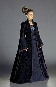 Star Wars II,  Padme Senate Gown
