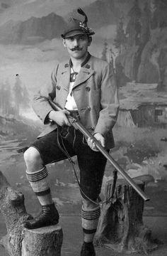 1890 beim Fotografen