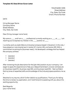 Sample Of Cover Letter For Job Application Data Driven Marketing Cover Letter Driven Marketing Cover Letter Template Marketing Cover Letter, Email Cover Letter, Resume Cover Letter Template, Cover Letter Format, Letter Templates, Job Cover Letter Examples, Cover Letter Tips, Writing A Cover Letter, Cover Letters