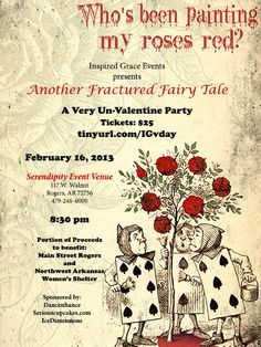 Another Fractured Fairy Tale : A Very Un-Vday Party - Eventbrite $25 February 16, 2013