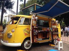 VW van converted into food stall for the Sydney Festival!