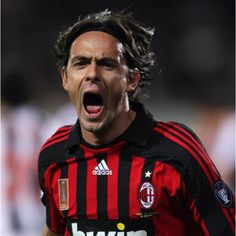 Filippo Inzaghi - you are the best striker in history.