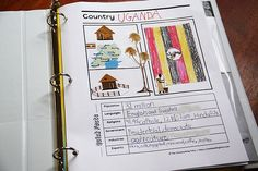 Country Notebooks and research skills