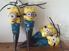 20 Minion themed sweet party cones. by SweetMafia on Etsy