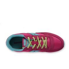 """SNEAKER JAZZ ORIGINAL GIRL ROSA TURCHESE E LIME -  Iconica, mitica, frizzante sneakers """"Jazz Original"""" bambina e ragazza firmata Saucony Girl e realizzata in nylon e pelle scamosciata di colore rosa, turchese e lime. Il design di questa fantastica ed intramontabile running è stato progressivamente ottimizzato per ottenere un comfort assoluto, ineguagliabile. #annameglio #sneakers #saucony #fashionteen #moda #abbigliamentobambinionline"""