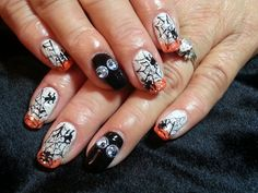 Day 304: Happy Halloween Nail Art www.nailsmag.com