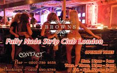 Do you want to join nude girls strip club London tonight? Brown-Shoreditch is fully nude strip club located in London, where you can find naked girls in strip club UK. Join us today to make your night memorable one with beautiful girls.