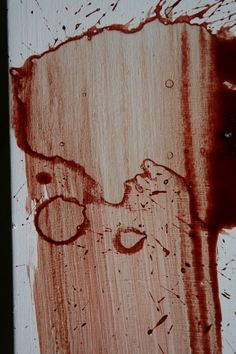 Wipes and Swipes in Bloodstain PatternAnalysis