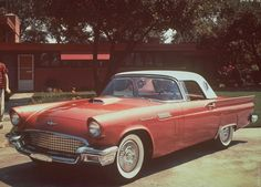 1957 Ford Thunderbird.  It's been on my bucket list since 1957!
