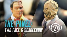 The Panel : Rise Collectible Toys Scale Two Face & Scarecrow Scarecrow Batman Begins, Two Face Batman, Virtual Reality Videos, Collectible Toys, Two Faces, Scale, Movie Posters, Collection, Too Faced