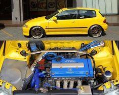 Honda Civic Hatchback, Honda Crx, Tuner Cars, Jdm Cars, Vtec Engine, Civic Eg, Import Cars, Ms Gs, Honda Accord