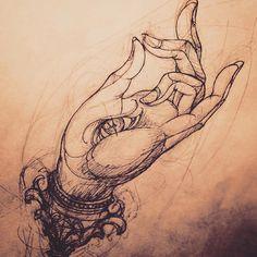 Tattoo Main, 1 Tattoo, Body Art Tattoos, Arm Tattoos, Lotus Tattoo, Buddhist Symbol Tattoos, Hindu Tattoos, Buddha Tattoos, Buddhism Tattoo