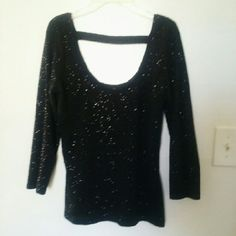 Fabulous Sparkle top G by Guess. Sequin top super sexy form fitting but stretchy worn once Guess Tops Blouses