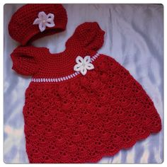 1000+ images about Robe fillette on Pinterest Crochet ...