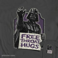 Free Throat Hugs @ WeLoveFine (via Shirtoid)