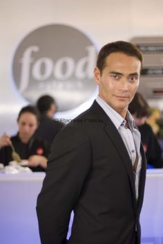 Iron Chef Chairman Mark Dacascos | mark dacascos at the nyc wine+food festival | autumn everyday