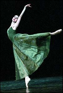 Nina Ananiashvili in Green. Bolshoi Ballet