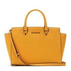787ee1e3ea3d MICHAEL Michael Kors - Selma leather tote #bag #michaelkors #women  #designer #covetme #michaelmichaelkors