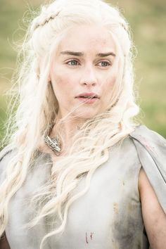 """Queen Daenerys Targaryen, often called Dany, is a major character in the first, second, third, fourth, fifth, and sixth seasons. She is played by starring cast member Emilia Clarke, and debuts in the series premiere. She is the younger sister of Viserys Targaryen and the youngest child of King Aerys II Targaryen, who was ousted from the Iron Throne during Robert's Rebellion. Daenerys is the only daughter and youngest child of King Aerys II Targaryen, the """"Mad King"""", and his sister-wife..."""