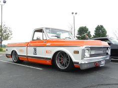 Who likes fast trucks? The Roadster Shop's 1970 Chevy C-10 is turning heads at the track on these Forgeline RB3C Concave wheels finished with Titanium centers and Polished outers. See more in the Forgeline customer gallery at: http://www.forgeline.com/customer_gallery_view.php?cvk=629