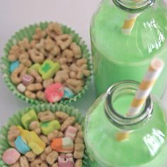 Cute St. Patrick's day idea for kids.