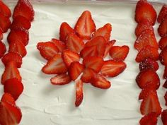 Canada Day Cakes!