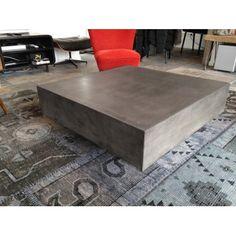 Fabrication béton haut de gamme. Prévue pour une utilisation intérieure ou extérieure.