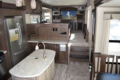 2016 Grand Design Solitude - - New Fifth Wheel RV for sale in Orchard Park, New York. Tiffin Motorhomes, Motorhomes For Sale, Class A Motorhomes, Trailers For Sale, Living On The Road, Rv Living, Fifth Wheels For Sale, Grand Design Rv, Rv Upgrades