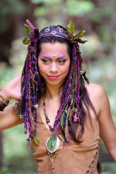 Faery Goddess Eos Headdress by lotuscircle on Etsy