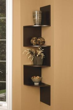 Wall Hanging Shelves Design 6 wall mounted 10 Creative Wall Shelf Design Ideas Corner Wall Corner Space And Corner Shelves