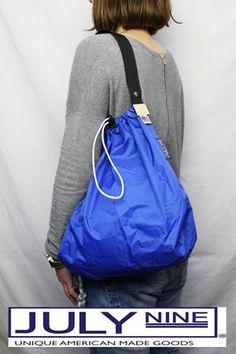 【楽天市場】ジュライ ナイン JULY NINE Pacific Pack / Sushi Sack ロールアップ トートバッグ ドローコード全7色 スシバッグ 【05P05Nov16】:REDWOOD Sac Week End, Drawing Bag, Best Bags, Designer Backpacks, Fabric Bags, Nylon Bag, Shopper Tote, Backpack Purse, My Bags