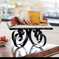 This is a great way to display cheese.  I'm looking forward to using it in my new house.