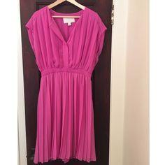 J. Crew Collection Pleated Blouson Dress; Size 4