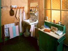 Photographs of the interior of the secret annex.