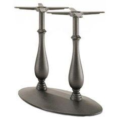 Picior (baza) de masa, picioare (baze) de masa de la PEDRALI din ITALIA, metalice, cromate, satinate, inox