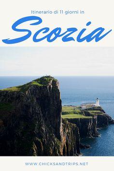 Itinerario di 11 giorni in Scozia: chilometro per chilometro, dalle strade delle Highlands, alle spiagge delle Ebridi Interne. Edimburgo, Glasgow, Inverness e Loch Ness.