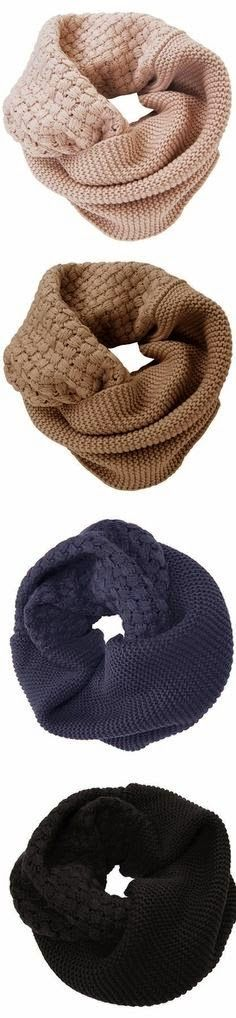Colorful Cute Circle Scarves for Ladies