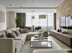 Интерьер квартиры 170м в жк Доминанта, Архитектурное бюро Александры Федоровой